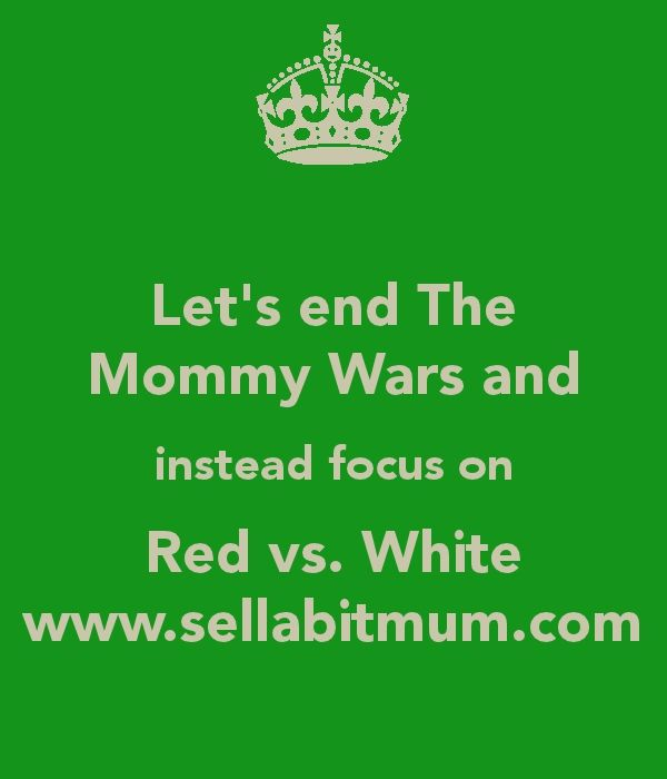 Mommy wars, let's drink wine, humor: Red Wine