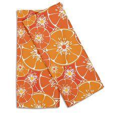 Garden Orange Slices Hand Towel (Set of 2)