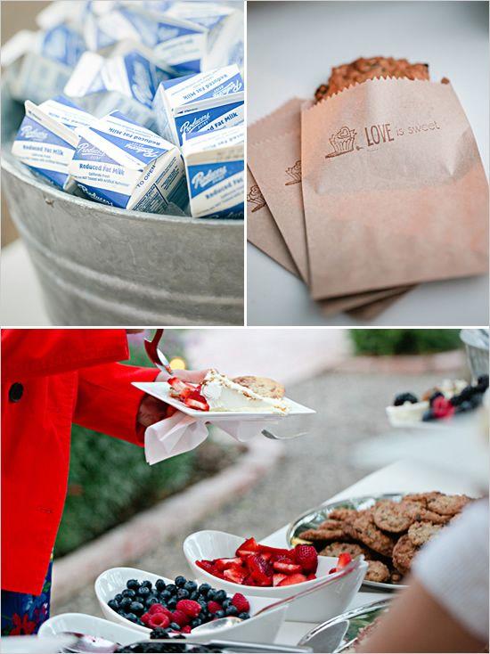 cookies and milk for dessert: Desserts, Cheesecake Bar, Sweet, Wedding Ideas, Cute Ideas, Dessert Cute Idea, Dessert Bars