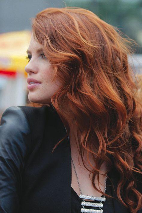 49 ideas hair highlights red redheads