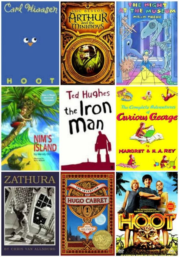 25 great kids books that were also made into awesome movies!  Perfect for summer reading lists