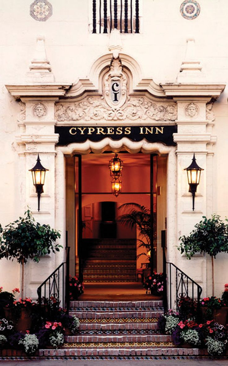 Roadtrip along Pacific Coast Hwy: Cypress Inn, Carmel, CA, owned by film actress Doris Day