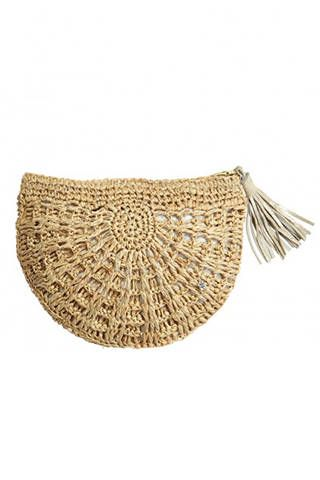 22 Must Have Woven Accessories - Woven Bags and Sandals - Elle LOVE this bag!!