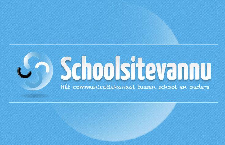 Logo - Schoolsitevannu, het communicatiekanaal tussen school en ouders, door leerlingen taalbeschouwing in de werkelijkheid te laten ervaren.