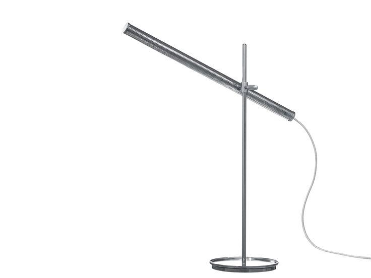 LED adjustable table lamp CRANE by Örsjö Belysning | design Benjamin Hubert