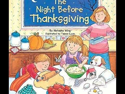 THE NIGHT BEFORE THANKSGIVING Children's Read Aloud ...