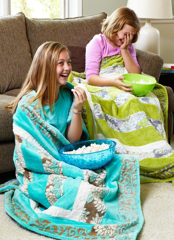 Plush fabrics make the comfiest blankets. American Patchwork & Quilting shares how to craft a cuddly throw from plush fabrics that will give you a reason to wrap up.