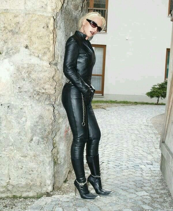 2100 Best Images About Leather Ladies In Black On
