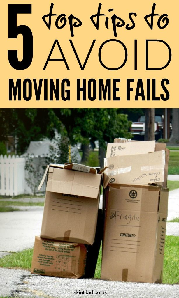 We've moved home a lot as renters and have really failed a few times. With some planning you can make sure you don't get it really wrong when moving home.