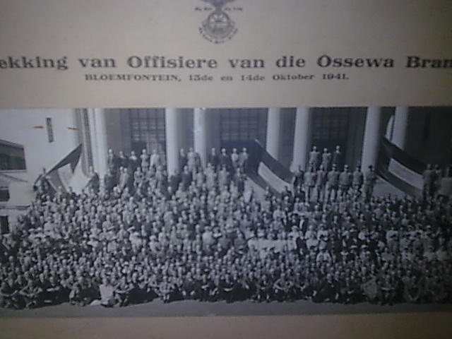 """by MILHA in Worcester (ID:19102134) This Day in History: Mar 4, 1939: The """"""""Ossewabrandwag"""" is founded in South Africa http://dingeengoete.blogspot.com/"""