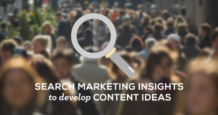 Using search marketing insights to develop content ideas  http://jbh.co.uk/blog/search-marketing
