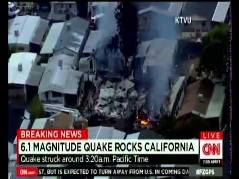 pray strong 6 1 earthquake rocks san francisco bay area injures 89 significant damage in napa breaking california earthquake magnitude 6 0 s