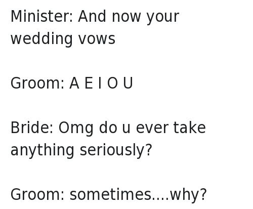 Best 25 Funny Vows Ideas On Pinterest