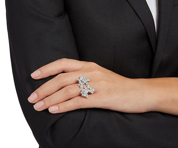LOVE. Eden Open Ring from #Swarovski