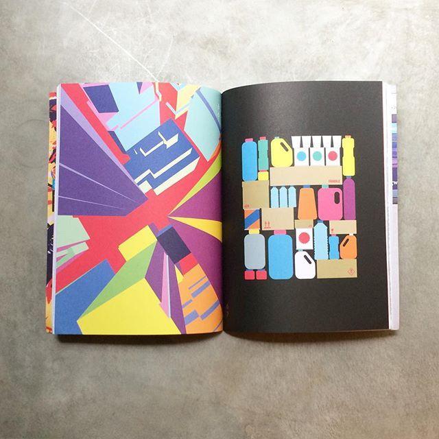 Inside #PrintedPages  #indiemags #print #publishing