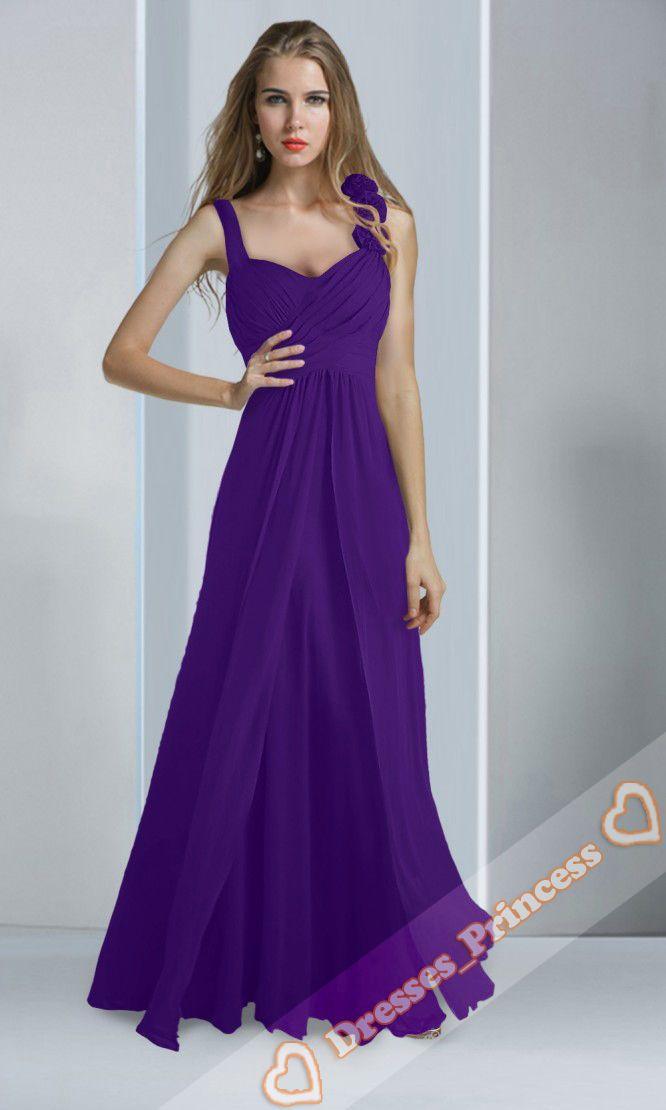 Famoso Ebay Vestidos De Dama De Honor De Color Rosa Colección ...