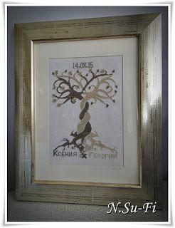 """Biżuteria od N.Su-Fi: Niebiżuteryjne: Obraz """"Drzewo Życia"""""""