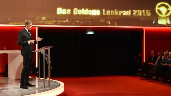 """Axel-Springer-Vorstandschef Mathias Döpfner in seiner Eröffnungsrede: """"Weil es in einem Konzern gravierendes Fehlverhalten gab, darf nicht die ganze Branche in Kollektivhaftung"""""""