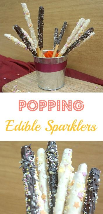 Popping Edible Sparklers