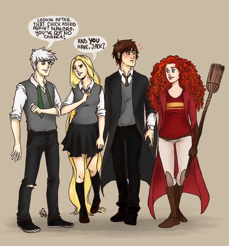 The Big Four/Harry Potter crossover by LilyScribbles.deviantart.com on @deviantART