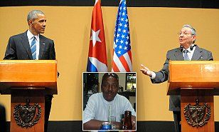 Cuban newspaper columnist calls Obama a 'negro' and claims he incited rebellion | Daily Mail Online// So much for obamas new found friends.
