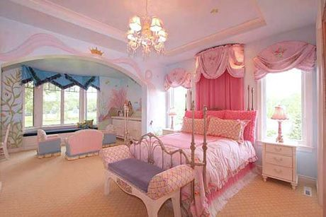 Princess pink wiggles n giggles exquisite interior for Baby princess bedroom ideas