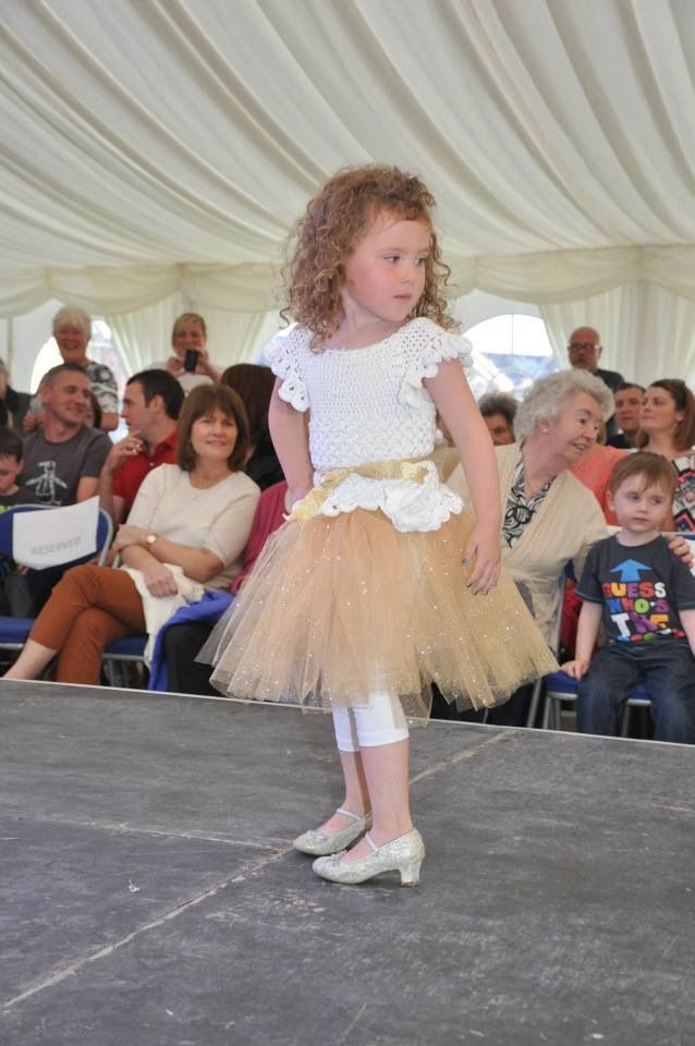 Glitter flower fairy dress!