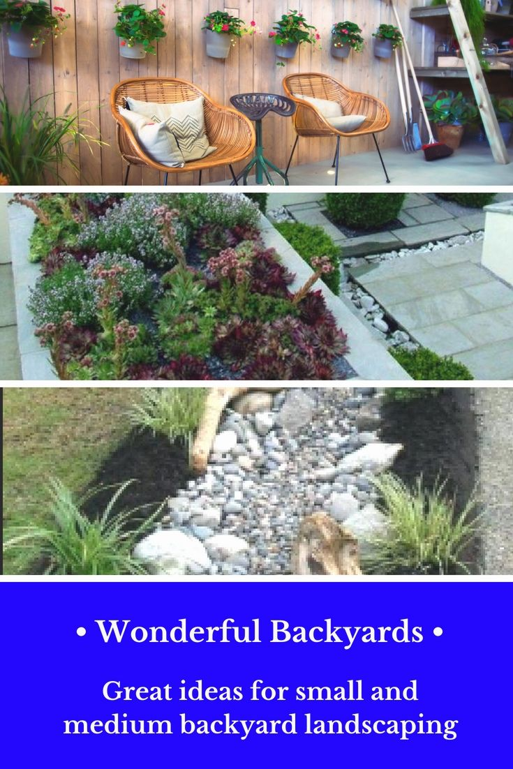 Charmant Tiny Back Yard Landscaping Projects That Will Look Great