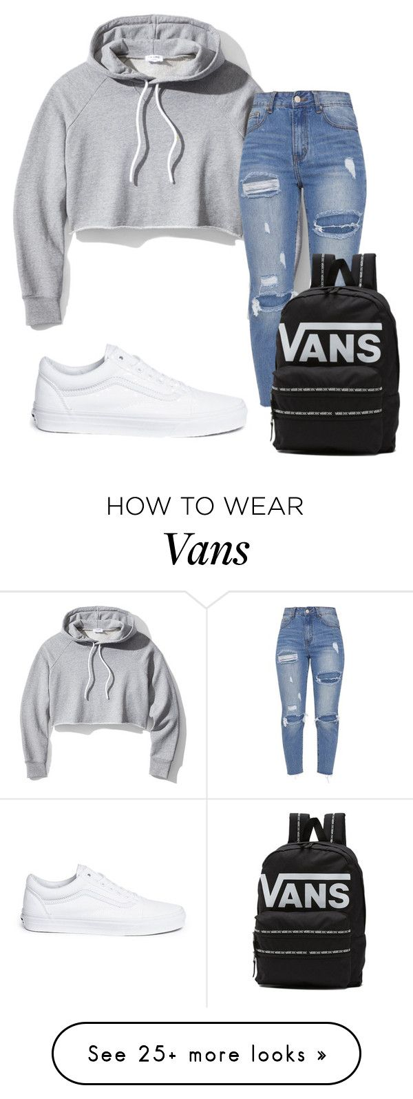 """Untitled #3686"" by mfr-mtz on Polyvore featuring Frame and Vans"