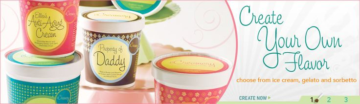Welcome to eCreamery the online custom ice cream & gelato shop where you choose your own flavor, mix-ins, packaging, even your own ice cream name. So go ahead, make it sweet. Or make it spicy. Make it for a friend. Or make it for yourself. At eCreamery, the options are endless, the flavors are fresh and best of all, you rule the scoop
