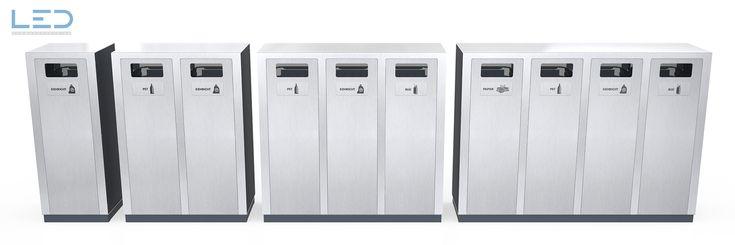 Wertstoffbehälter, Abfalltrennbehälter, Abfallbehälter