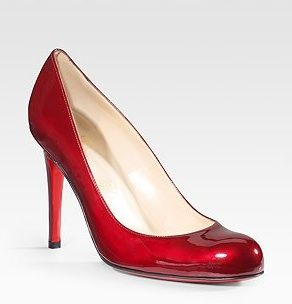 Christian Louboutin Metallic Patent Pump: Manolo S Shoe, Fashion, Color, Boots Heels Sandels Shoes, Metallic Patent, Louboutin Metallic, Christian Louboutin, Patent Pumps