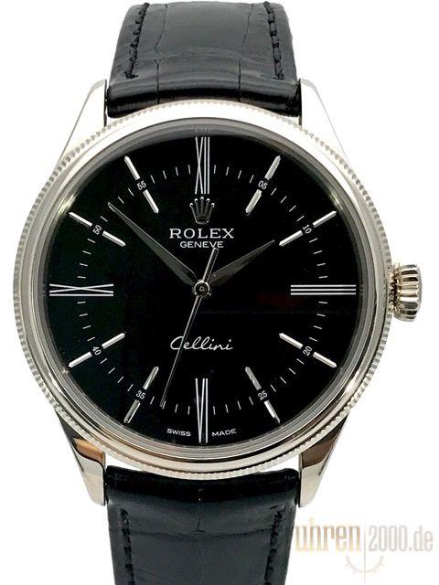 Rolex Cellini Time 50509 Schwarz gebraucht aus 2016