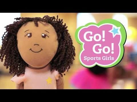 Go! Go! Sports Girls! are sports dolls that play your sport! They encourage girls to Dream Big and Go For It!.