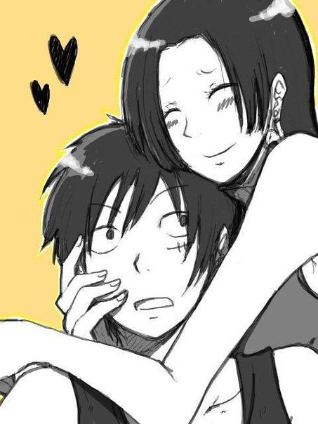37 best luffy x hancock images on pinterest luffy and hancock luhan and one piece - One piece luffy x hancock ...