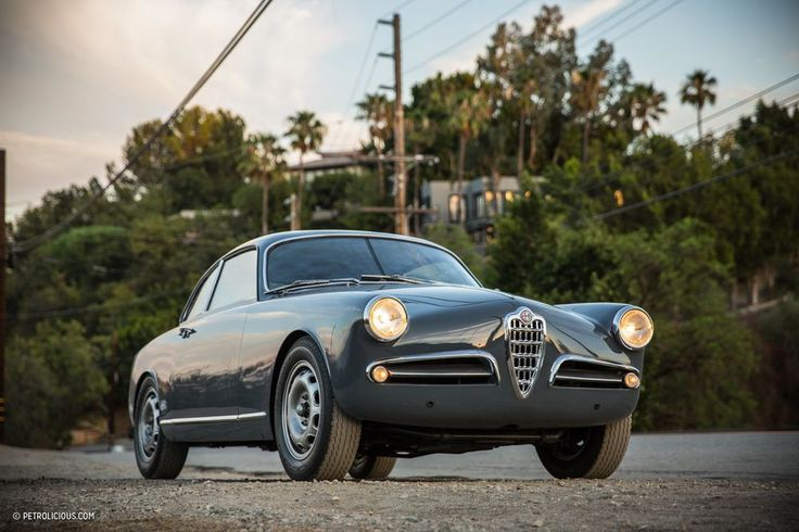 This Alfa Romeo Giulietta Sprint Is Driving In Stereo - Petrolicious