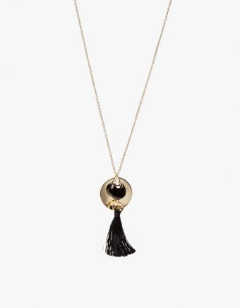 Melia Tassel Necklace