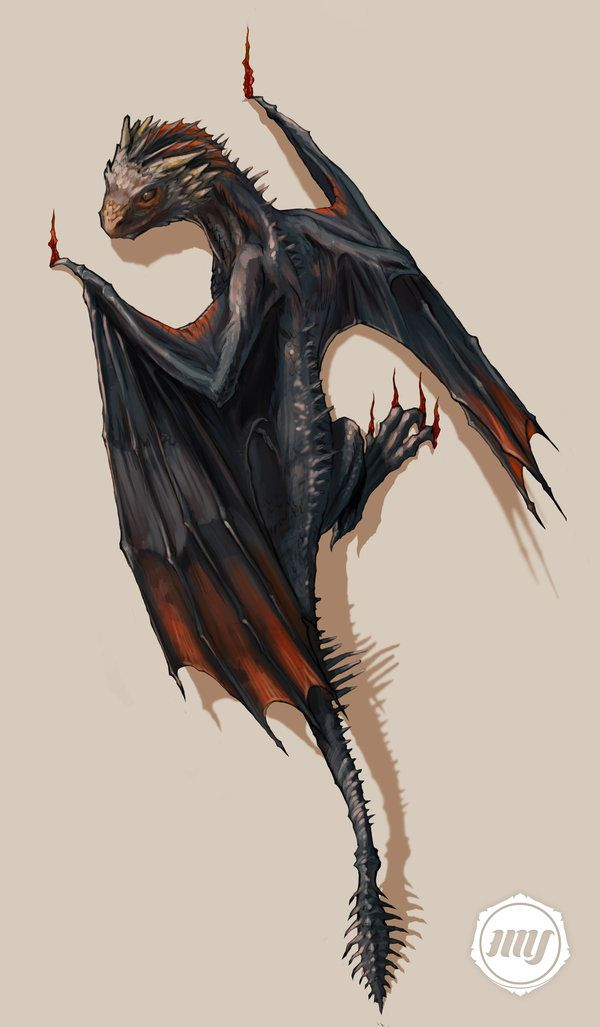 Drogon // Game of Thrones | Tattoo Comission by ExitMothership.deviantart.com on @DeviantArt