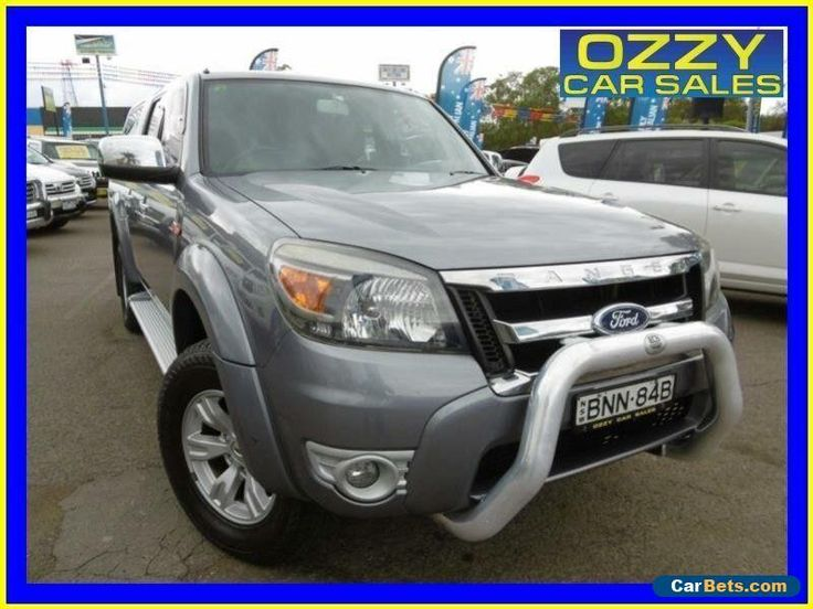 2010 Ford Ranger PK XLT (4x2) Grey Manual 5sp M Dual Cab Pick-up #ford #ranger #forsale #australia