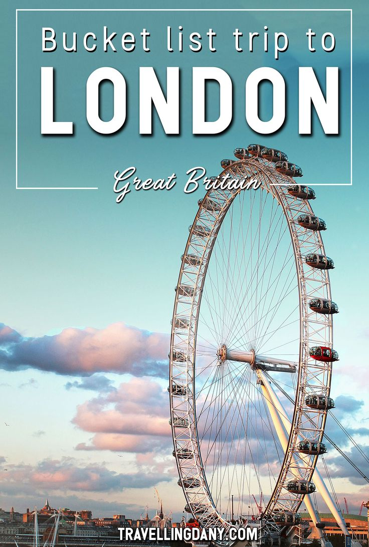 Bucket list trip to London: with tips on the best things you can do for free, Tube directions, budget ideas and clear information you can use to plan your itinerary! | #London #Europe #GreatBritain