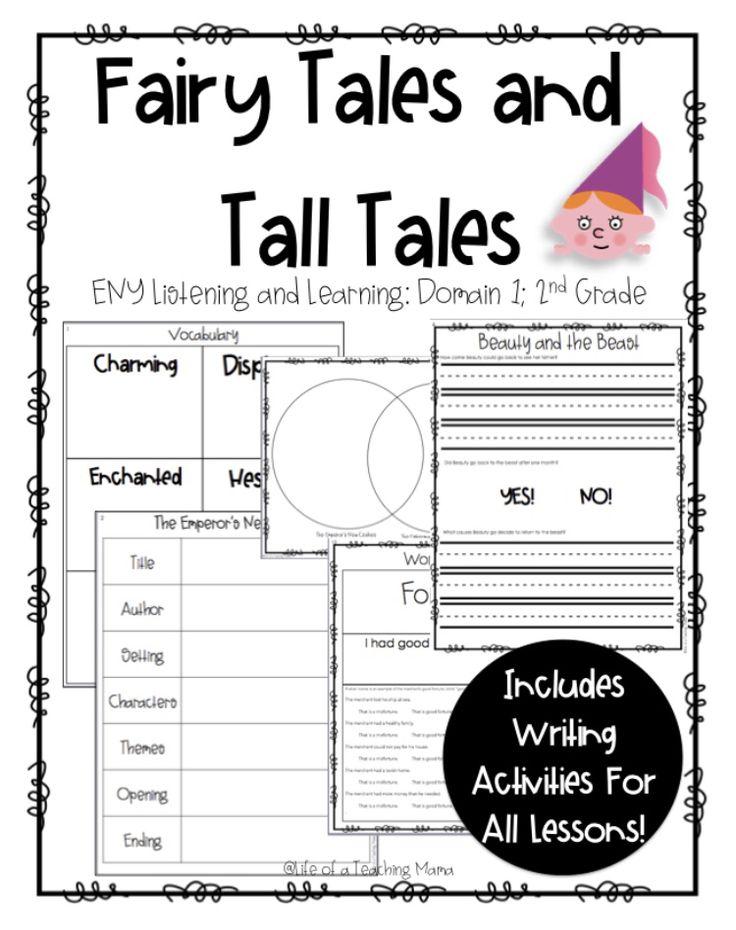 CKLA/ENY Fairy Tales and Tall Tales, Grade 2, Domain 1