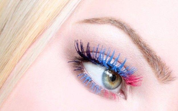 Il mascara colorato per un'estate 2013 di tendenza
