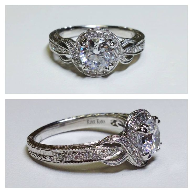 Kirk Kara engagement rings. Probably one of my favorites so simple and classy. :)
