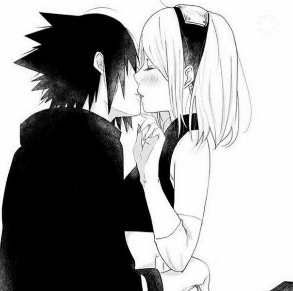 Anime: Naruto Personagens: Sasuke e Sakura Uchiha