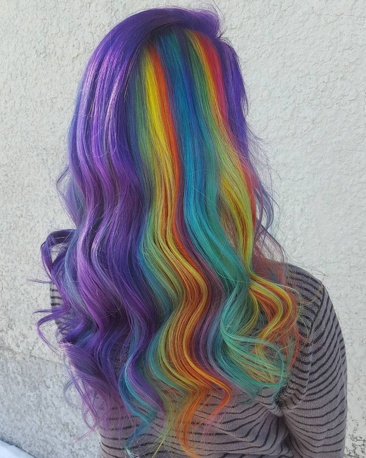 Pastel Purple Pink Green Blue Timber Wood Look: 180 Best Hair Color Images On Pinterest