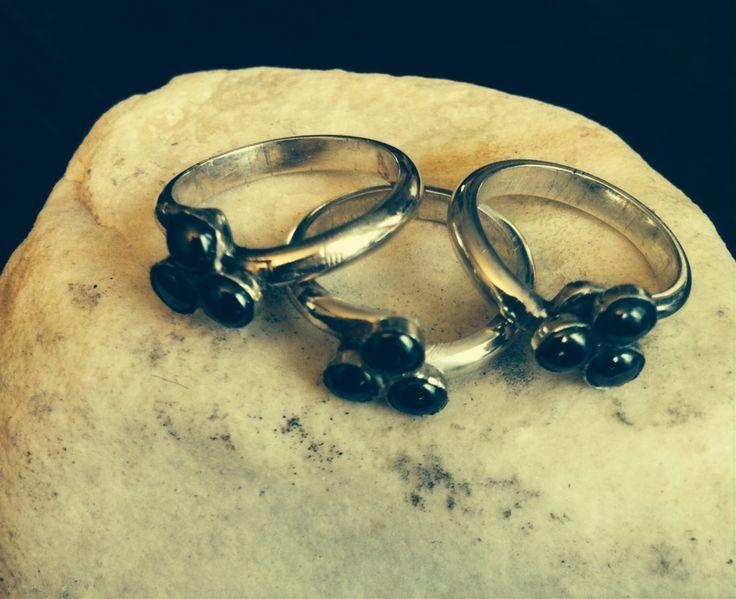 Moeder/dochter ringen eigen ontwerp