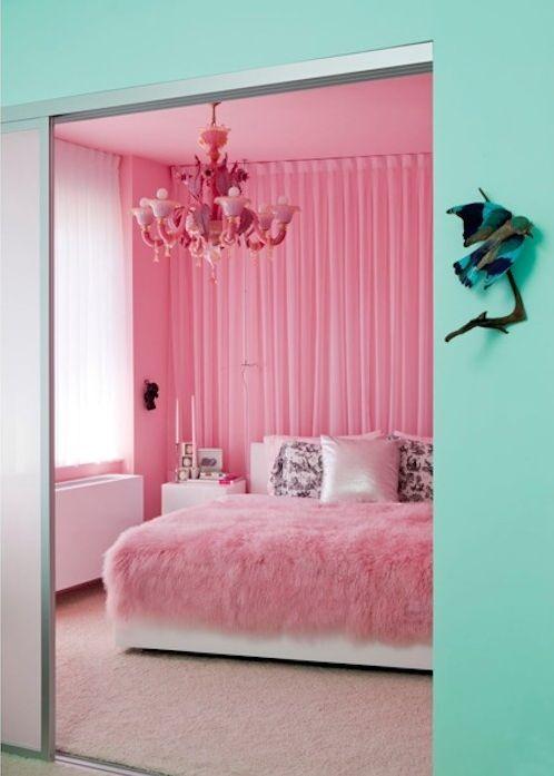 Die besten 25+ Rosa Aqua Schlafzimmer Ideen auf Pinterest Aqua - schlafzimmer ideen pink