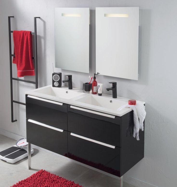 "auf Pinterest""  Double vasque, Vasque und Armoire de toilette"
