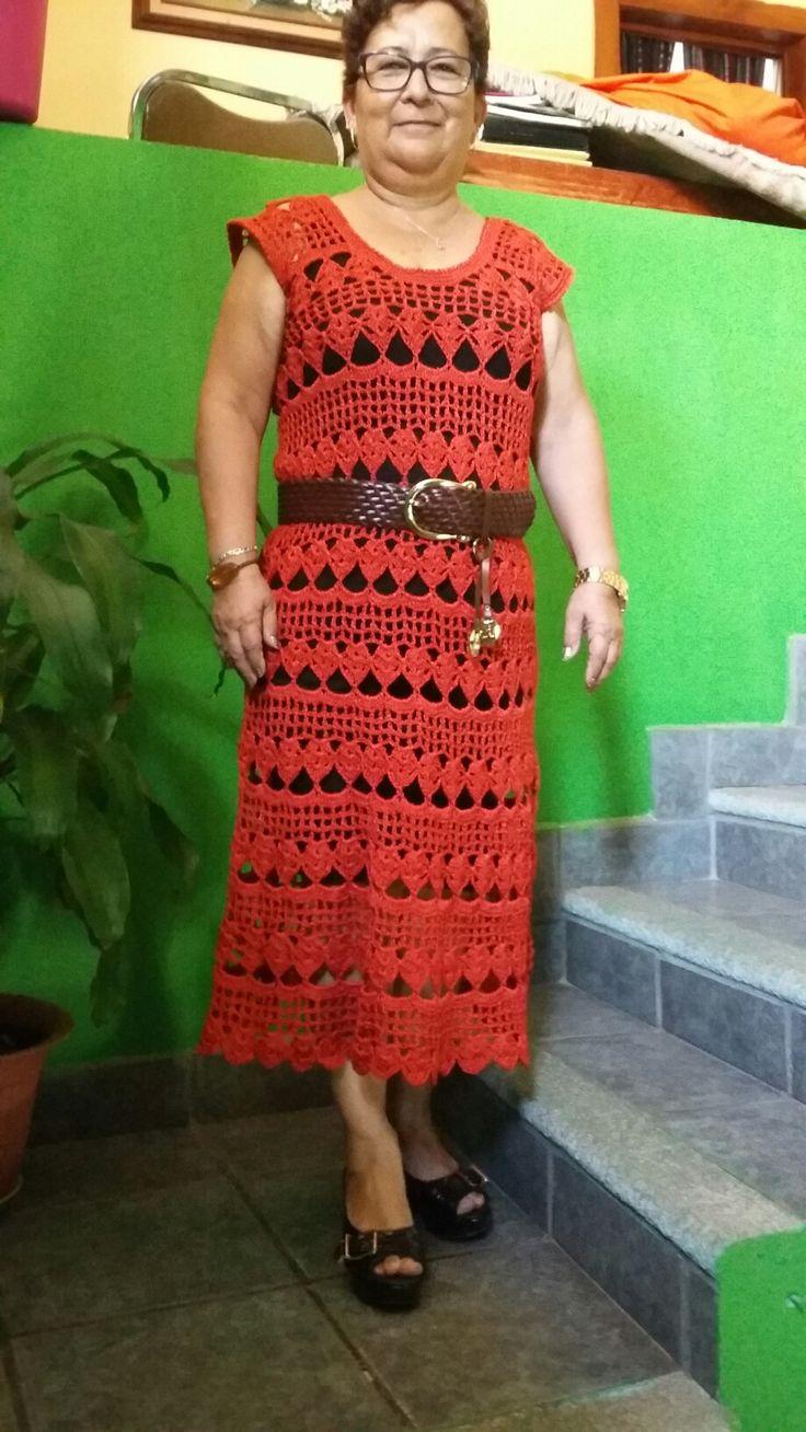 Me encanto mi vestido.
