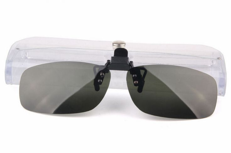 Green Polarized Clip On Lens - 37mm High
